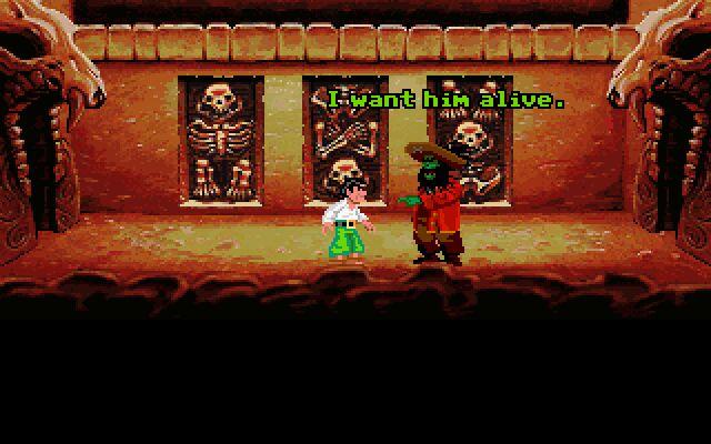 El pirata zombi LeChuck