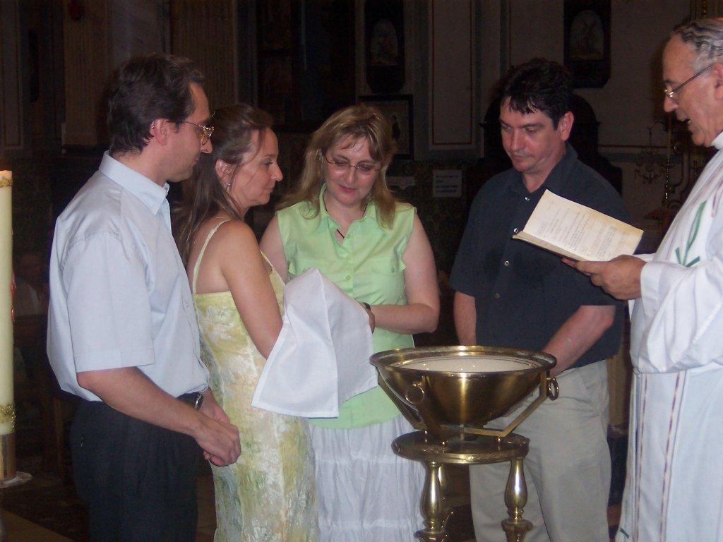 Mas fotos del bautizo