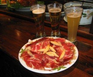 29 DE OCTUBRE............SEVILLA Tapa_cerveza