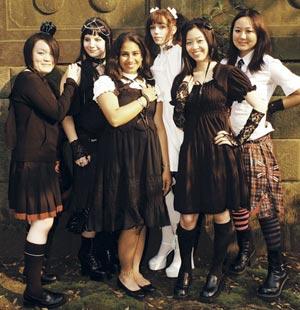 Grupo de Lolitas