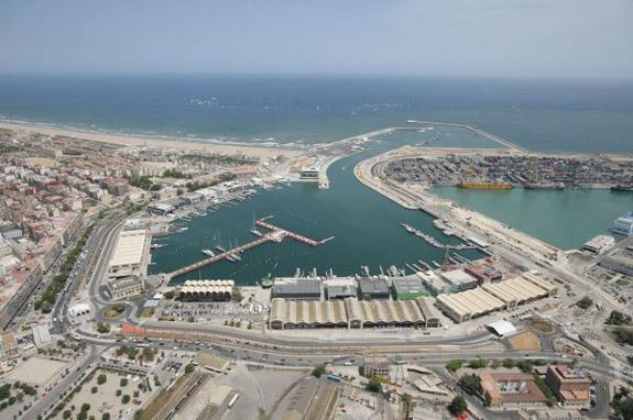 Hotel balneario las arenas en valencia espaa - Laydown puerto valencia ...