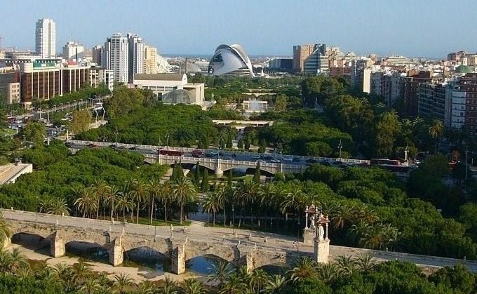 Valencia for Jardin urbano valencia