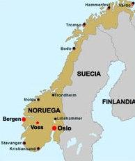 Un paseo por Noruega