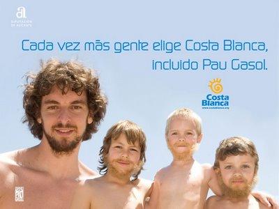Específico Embrión efecto  Famos@s de anuncio.Pau Gasol